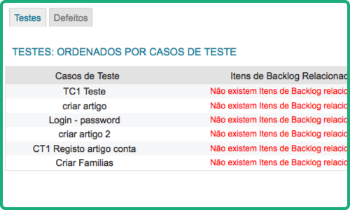 Tests Management Feature